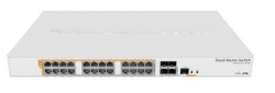 ETHERNET ROUTER CRS328-24P-4S+RM