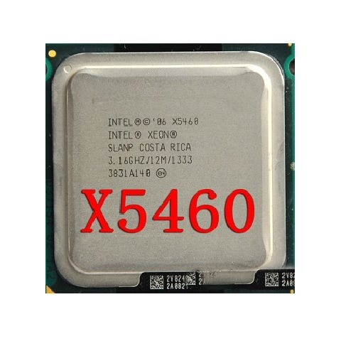 - Xeon X5460. 3.16/12MB/1333, 45nm, 4 core.