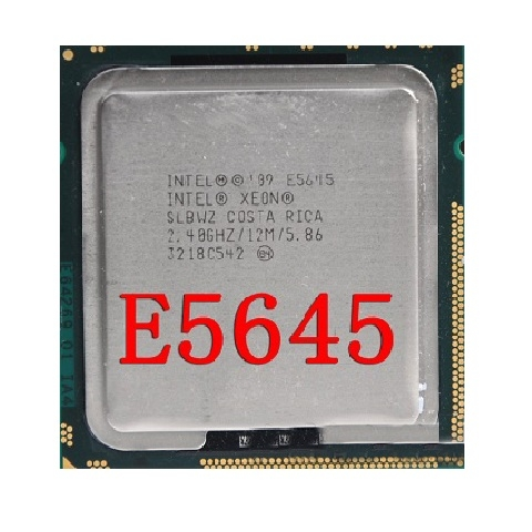 Xeon E5645, 6core/12threads, SK 1366