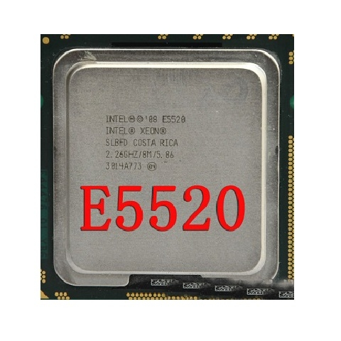 Xeon E5520, 4core/8threads, SK 1366