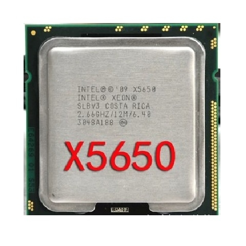 Xeon X5650, 6core/12threads, SK 1366