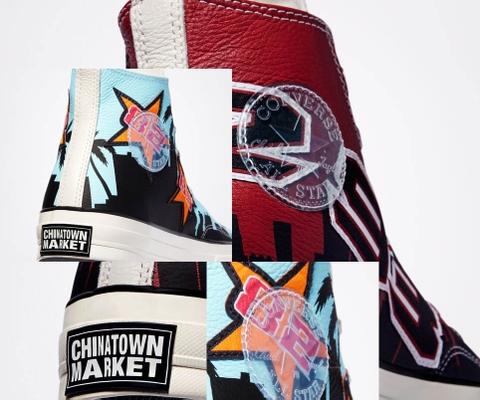 Converse Chinatown Market Lakers Championship & Bulls Championship Jacket