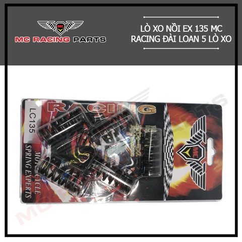 LÒ XO NỒI EX 135 MC RACING ĐÀI LOAN 5 LÒ XO - MC 050
