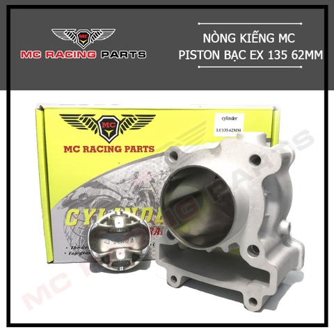 NÒNG KIẾNG MC PISTON BẠC EX 135 62MM - MC 553
