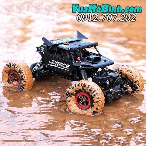 xe điều khiển địa hình, đồ chơi mô hình ô tô địa hình điều khiển từ xa chính hãng cao cấp giá tốt rock crawler xe đua địa hình chạy pin giá rẻ