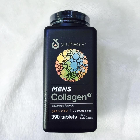 Collagen Nam Youtheory Mens Collagen Type 1 2 & 3