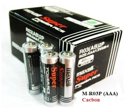 Maxell R03P (1 vỉ 4 viên) (China)