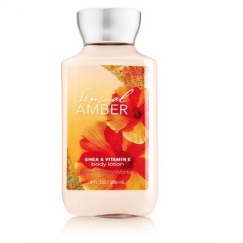 Gel tắm Sensual Amber Bath & Body Works (295ml)