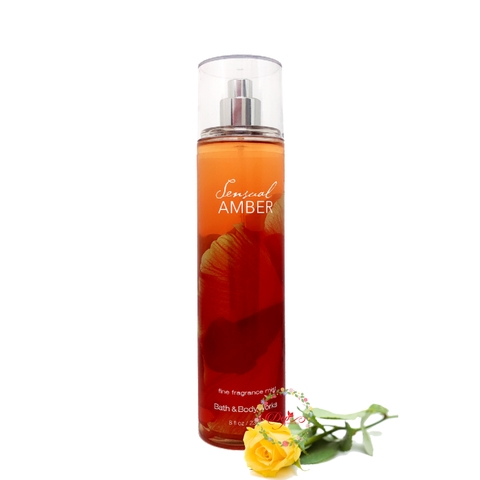 Xịt Thơm Toàn Thân Bath and Body Works Fine Fragrance Mist 236ml - Sensual Amber
