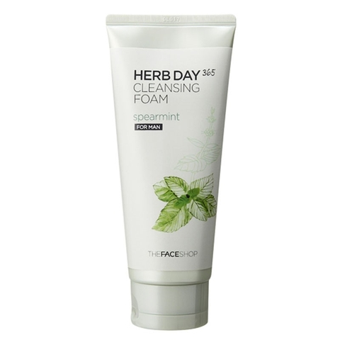 Sữa rửa mặt Herb Day 365 Cleansing Foam ( For Man) 035