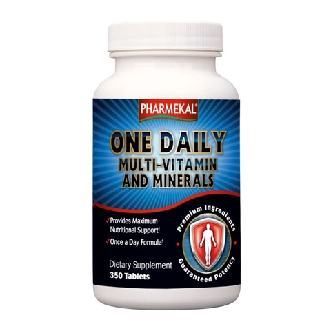 PHARMEKAL ONE DAILY MULTIVITAMIN AND MINERALS -