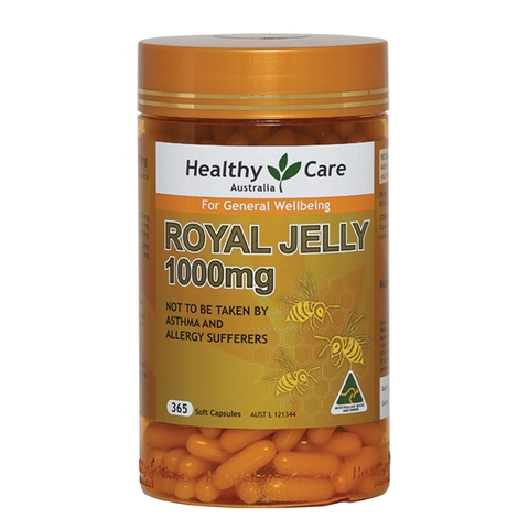 Sữa Ong Chúa Healthy Care Royal Jelly 1000mg