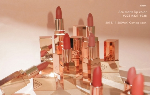 Son Thỏi 3ce Stylenanda Lip Color