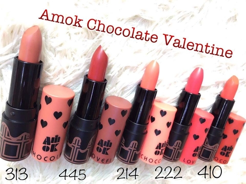 Amok Lovefit Chocolate Valetine Collection