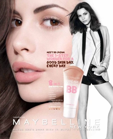 BB Cream Maybelline Dream Fresh BB 8-In-1 Instant Fresh-Faced Glow