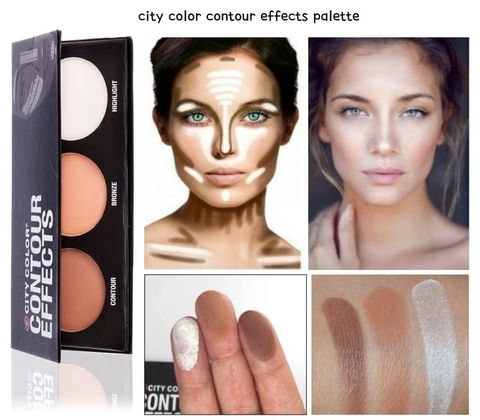 Bảng tạo khối và Highlight City Color Contour Effects