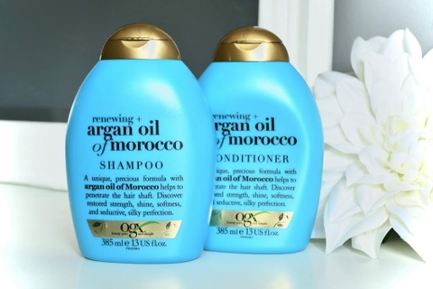 Bộ Gội - Xả OGX Renewing Argan Oil Of Morroco