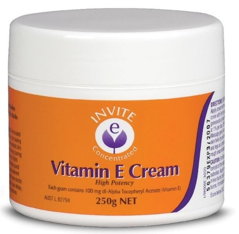 Invite e Vitamin E Cream 250g