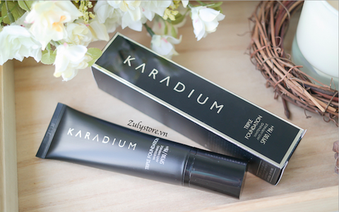 Kem nền Karadium Triple Foundation SPF30 PA++