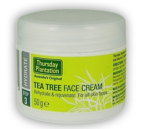 TEA TREE FACE CREAM 65g