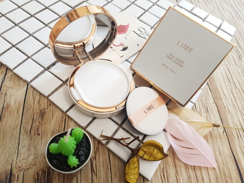 Phấn Nước Lime Real Cover Pink Cushion Limited Edition - Phiên bản Limited Edition