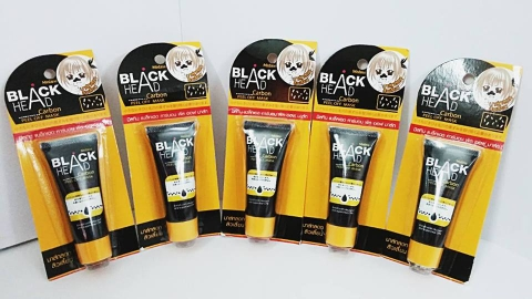Gel Lột Mụn Đầu Đen Mistine Black Head Carbon Peel Off Mask