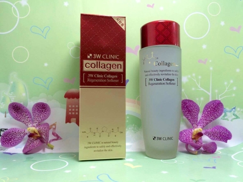Nước Hoa Hồng Collagen 3W Clinic Regeneration Softener