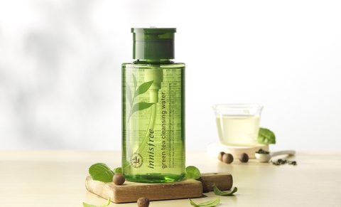 NƯỚC TẨY TRANG INNISFREE GREEN TEA PURE CLEANSING WATER