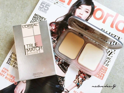 Phấn Phủ L'Oreal True Match Micro-Perfecting Powder Foundation