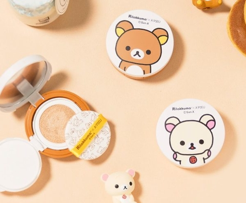 AIR-FIT TENSION PACT SPF30 (RILAKKUMA EDITION) – APIEU X RILAKKUMA