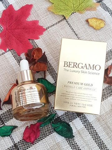 Tinh Chất BERGAMO The Luxury Skin Science Premium Gold