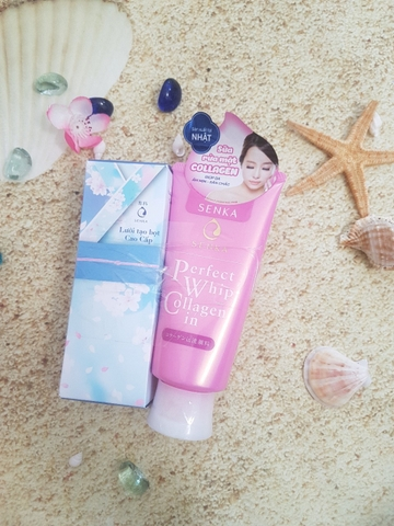Sữa Rửa Mặt Shiseido Senka Perfect Whip Collagen In