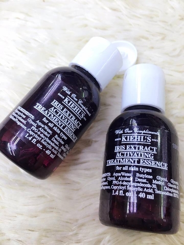 Tinh Chất Dưỡng Da Kiehl's Iris Extract Activating Treatment Essence
