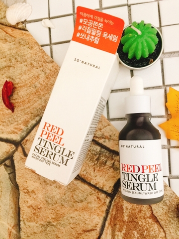 Tinh chất Red Peel Tingle Serum Sonatural