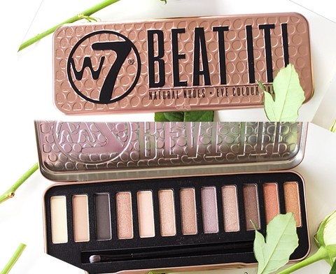 Bảng Phấn Mắt W7 - BEAT IT NATURAL NUDES