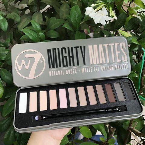 Bảng Phấn Mắt W7 – Mighty Mattes Natural Nudes