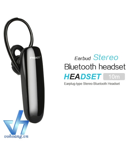 Tai nghe Bluetooth Pisen LE001+ âm thanh 3D | Stereo earbud headset