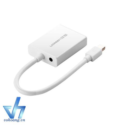 UGREEN 10437 - Cáp chuyển Mini DisplayPort to VGA + audio
