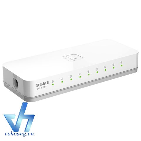 D-Link DES-1008C | Switch 8-Port 10/100Mbps
