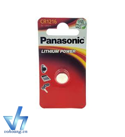 Vỉ 1 Pin 3V Lithium Power Panasonic CR1216