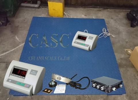 Cân sàn điện tử Model FS-T3 hãng sản xuất Cân Chi Anh