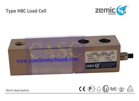 Loadcell H8C Zemic