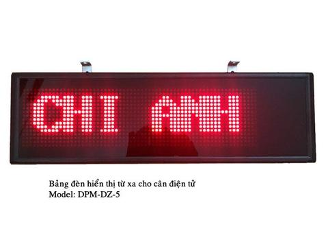 Bảng đèn hiển thị cho cân điện tử