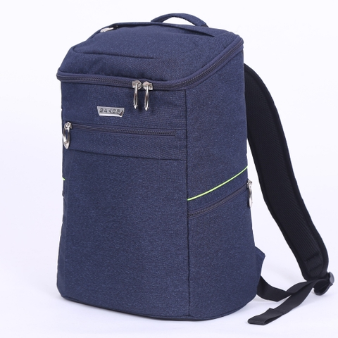 Balo Laptop Sakos Alpha i15 - Navy/Green
