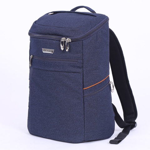 Balo Laptop Sakos Alpha i14 - Navy/Orange