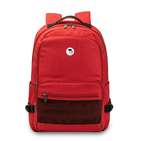 Balo Laptop Mikkor Louie-  Red