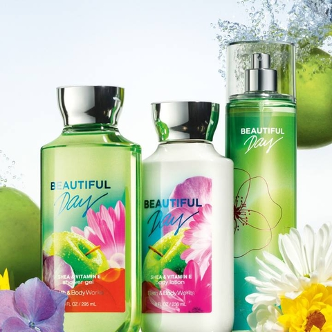 Set chăm sóc da Bath And Body work beautiful day