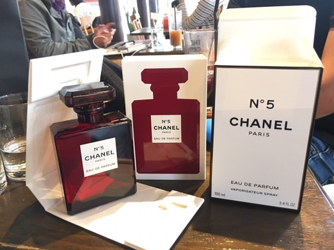 NƯỚC HOA NỮ CHANEL NO5 LIMITED EDITION RED EDP 100ML