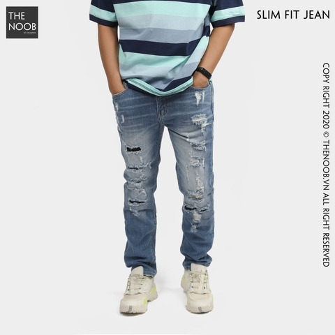 Jack & Jones - Quần Jean Dáng Basic Slim Fit - 2020QB06