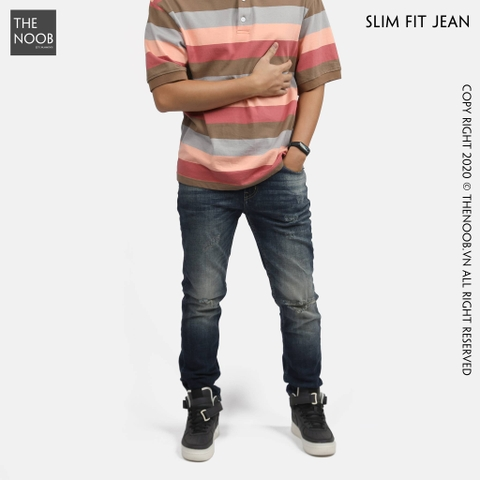 Jack & Jones - Quần Jean Dáng Slim Fit - 2020QB05